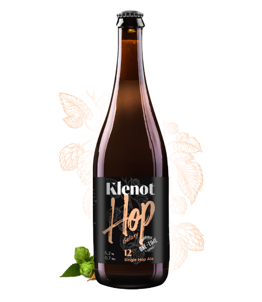 Single HOP Ale - Galaxy - Pivo - Klenot