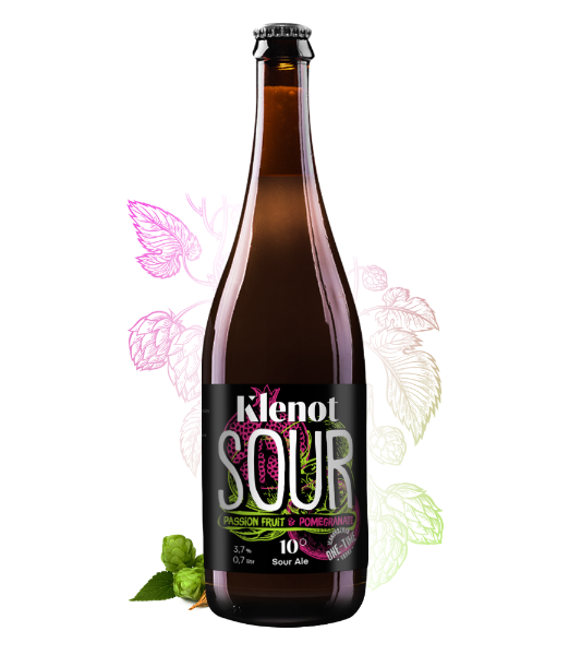 Sour Ale - Passion fruit & Pomegranate - Pivo - Klenot